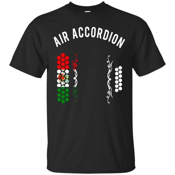 Mexican Air Accordion T shirt - Diatonic Accordion Tshirt