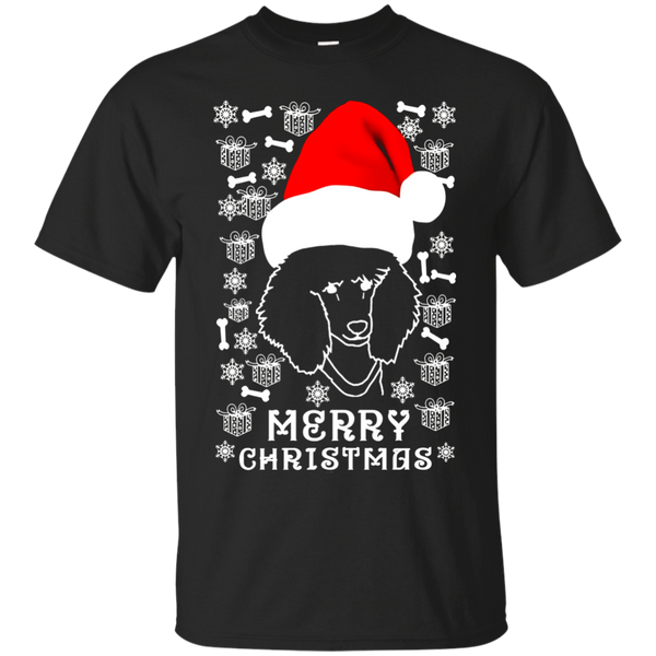 Poodle Ugly Christmas sweater tshirt gift for woman men kids