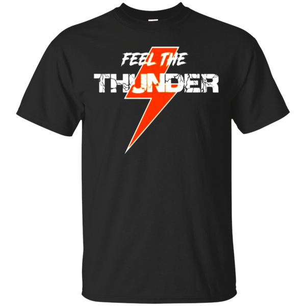 Dirt Racing T Shirt - Dirt Track Races Feel The Thunder Tee