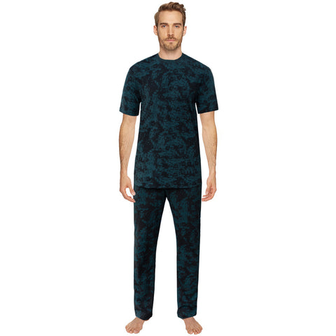 Funky's Zinc Black Men's Night Suit Plus Track Suit