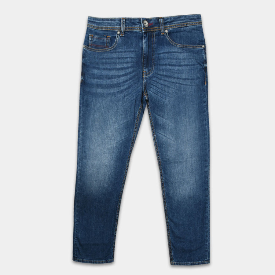 Moving Slim Straight Fit Blue DENIM