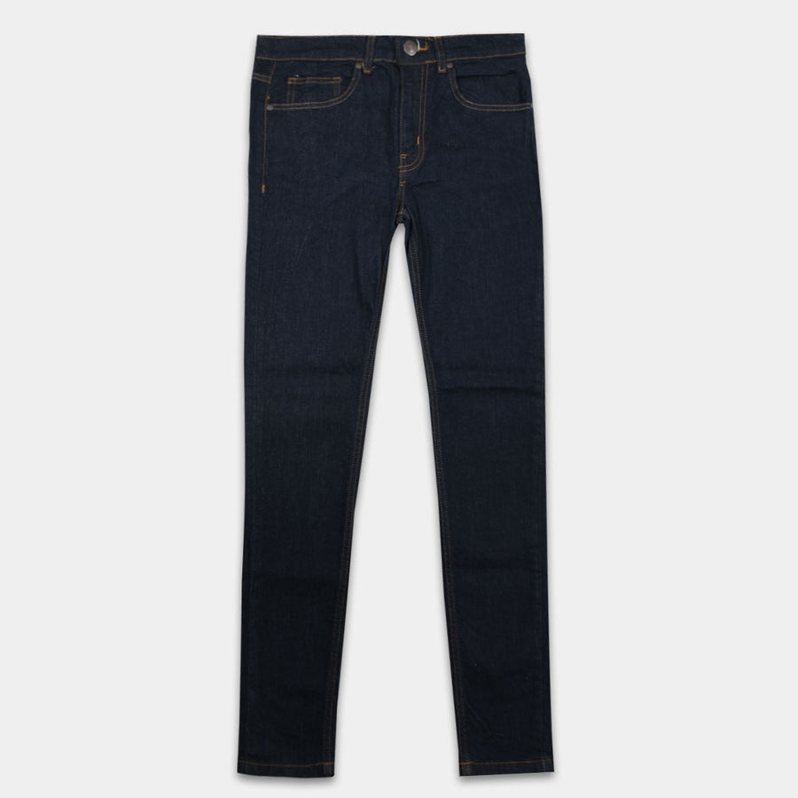 L C SOLID STITCH DENIM
