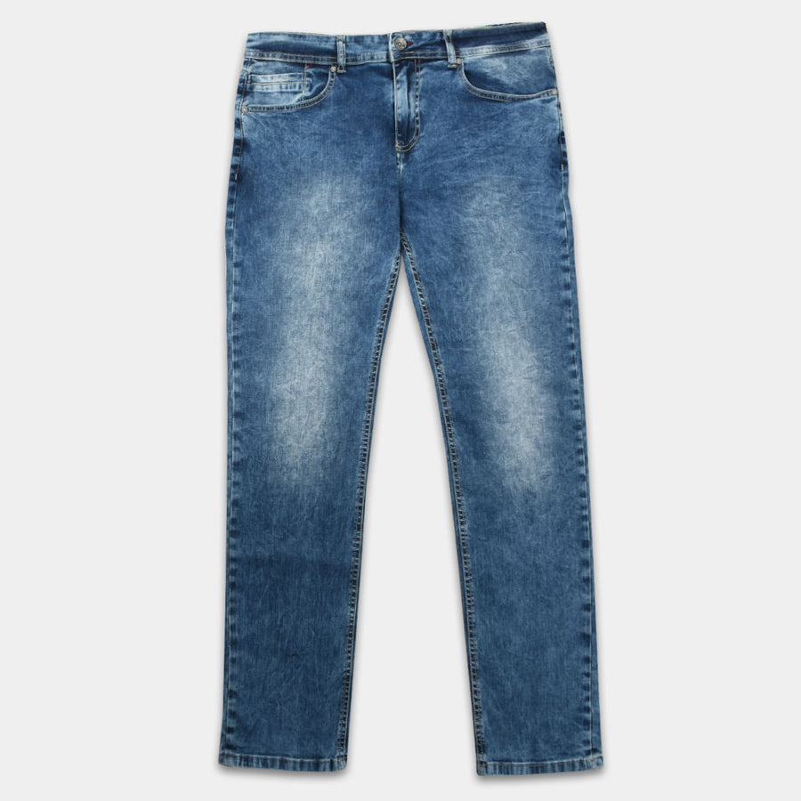 Big & Tall Moving Slim Stretch Denim ( waist 36 to 46 )
