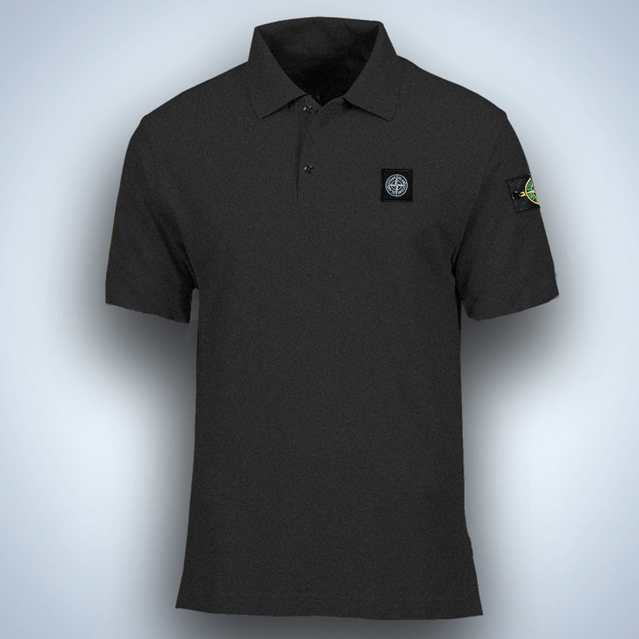 Flex Trait Charcoal Polo