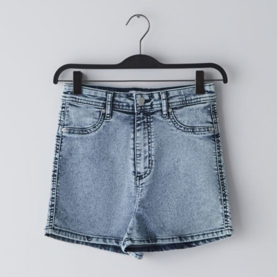 High Waist Essential Women  Denim  Short