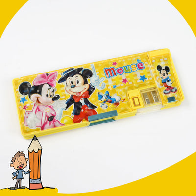 KIDS MICKY MOUSE YELLOW  Geometry Box