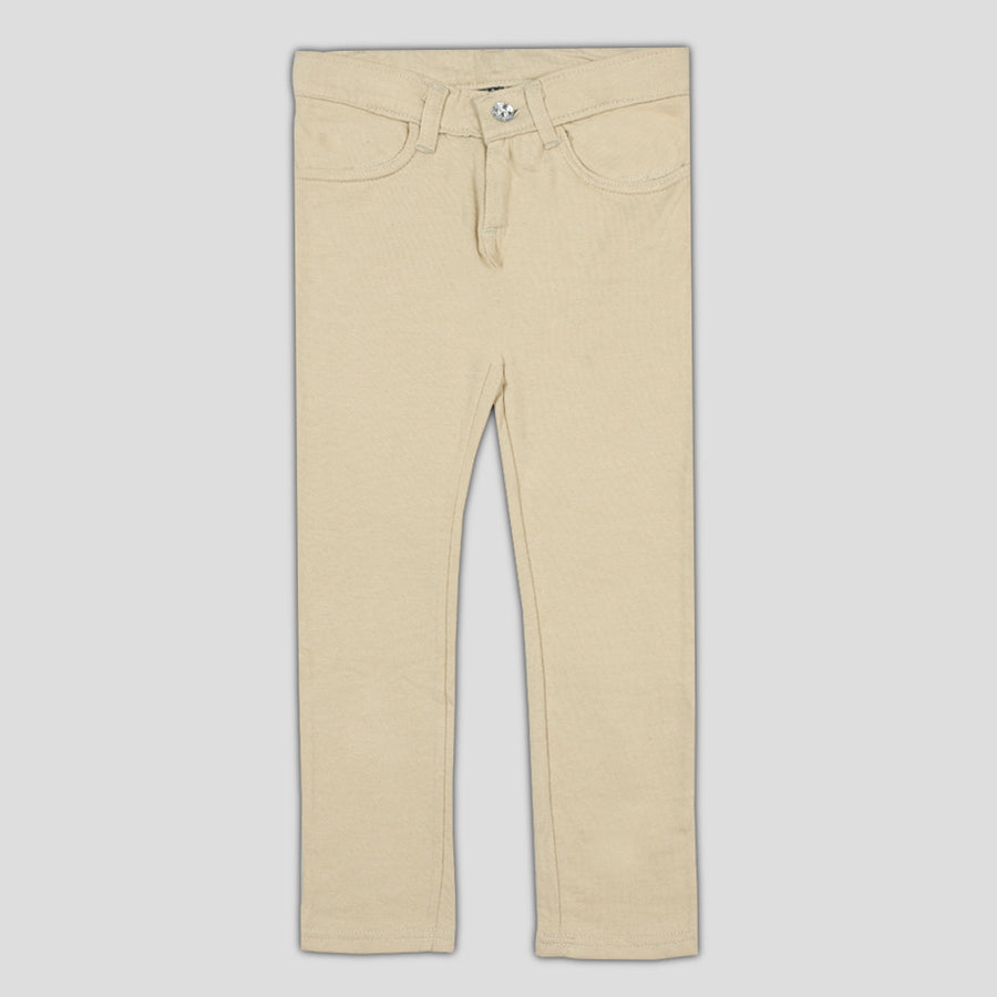 Girls Frech terry Flex Skin pant