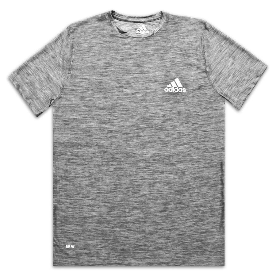 Dry Fit Athletic Printed Logo Grey T-SHIRT