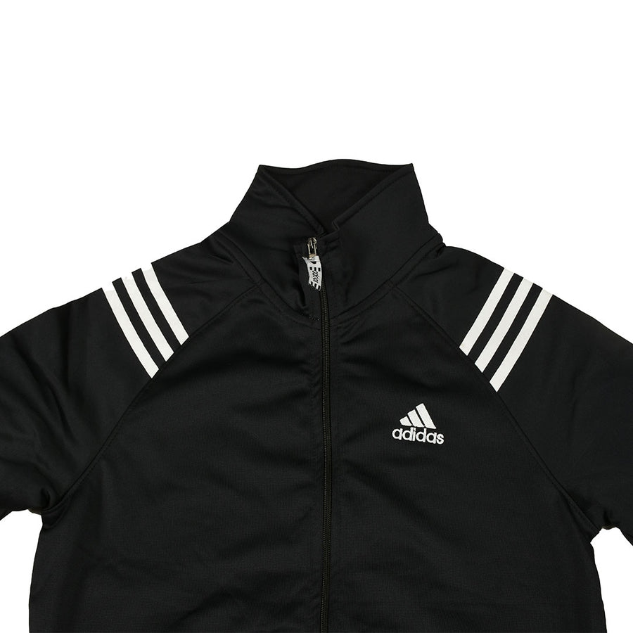 Front 3 stripes Black track/ training jacket