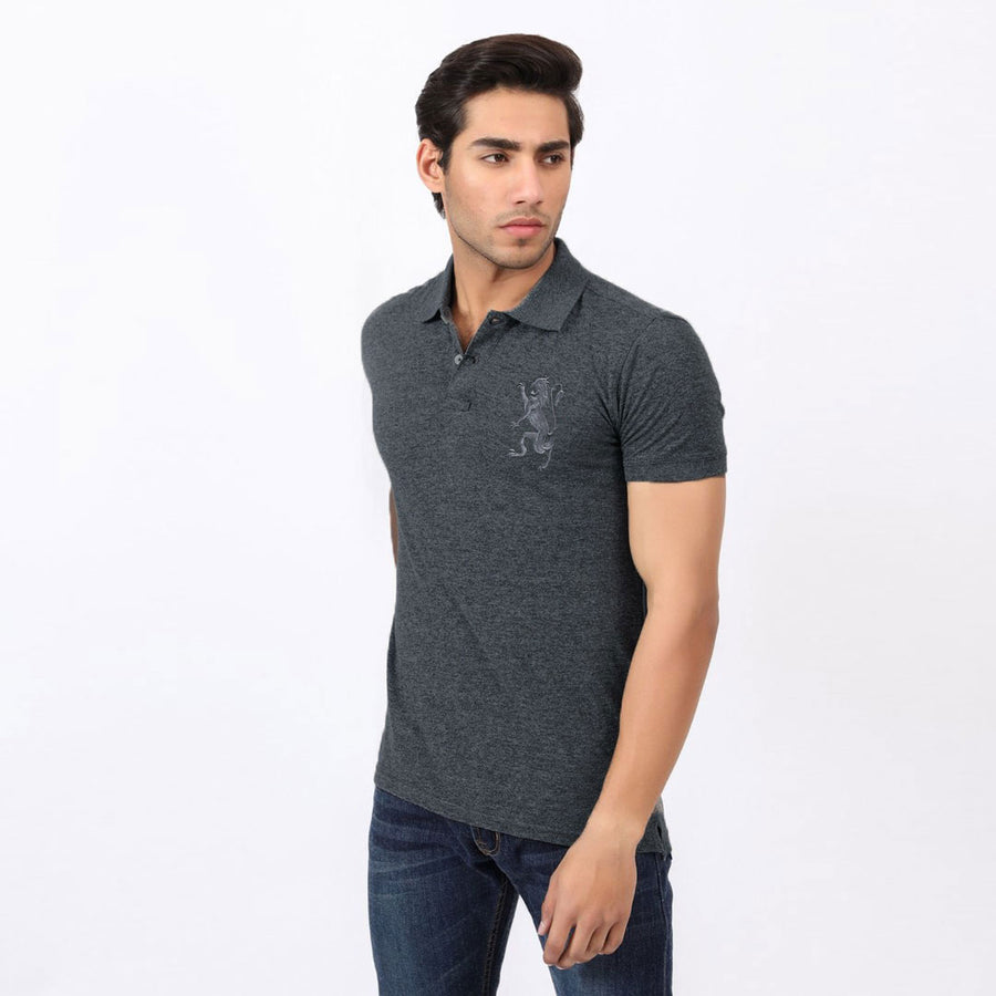 FLEX FIRST PRIO CHARCOAL PREMIUM POLO