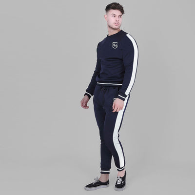 Funkys FN Side Panel Premium Dark Navy Track Suit