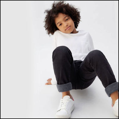 Boys Black Stretchable Denim (5 YEARS To 14 YEARS)