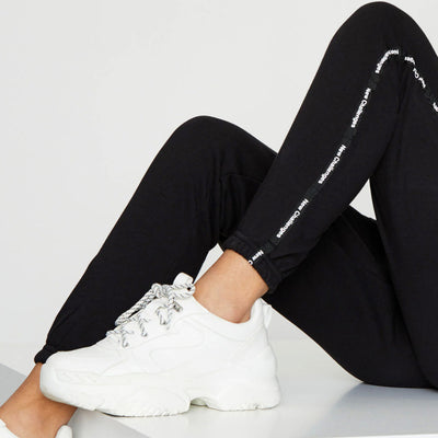 New Challenges Cross Pocket WOMEN TERRY JOGGER PANTS W28-36