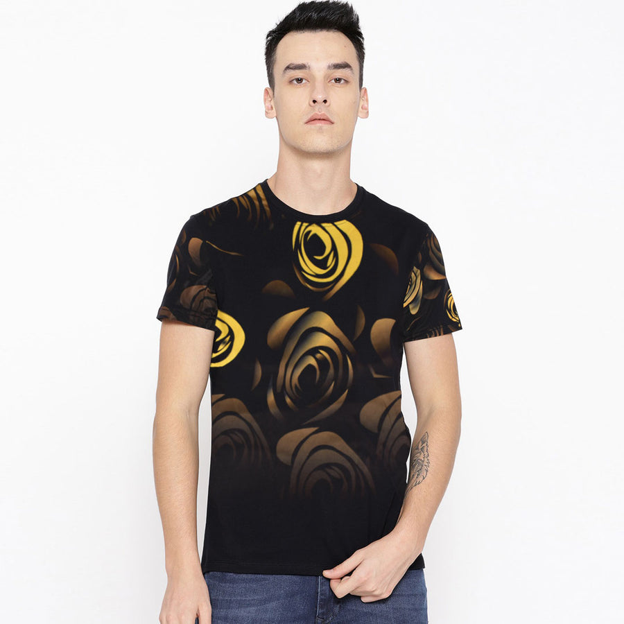 Floral pattern Trendy dude tee