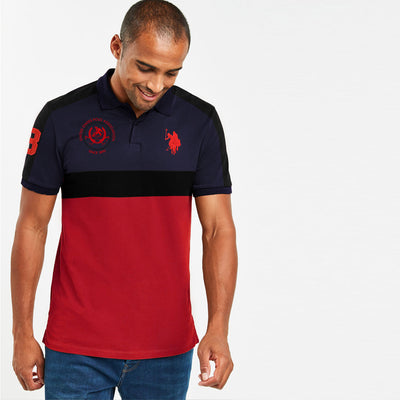 Solace Flex High Navy Essential Polo