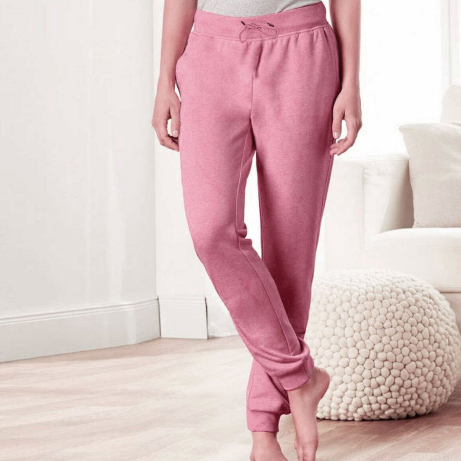 Souvenir gender neutral fleece jogger pants.