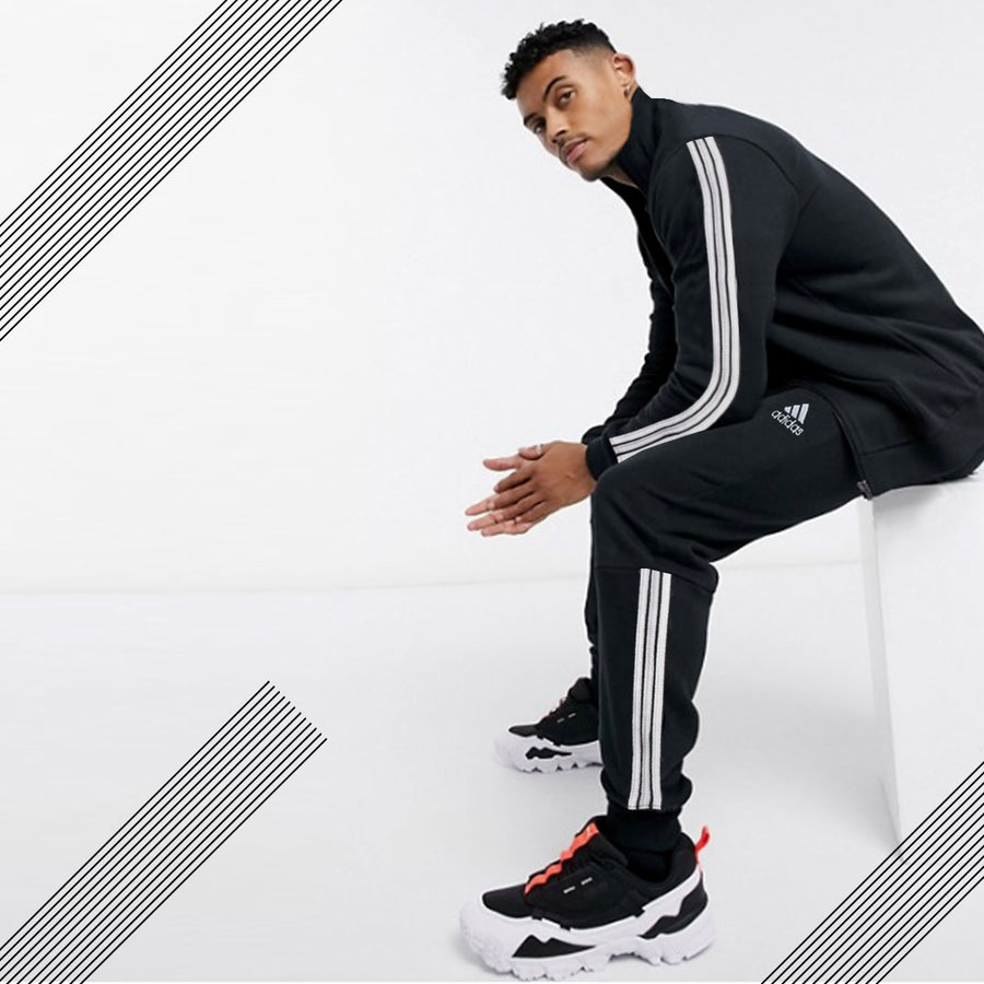 ADS POLY ATHLETIC BLACK TRACK SUIT