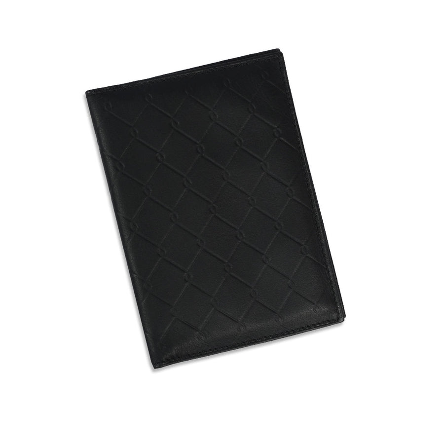 Funky's BLACK LEATHER CARD HOLDER WALLET