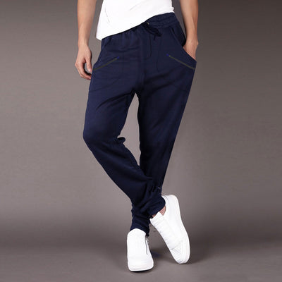 Front Four Pocket Terry Trouser Pants