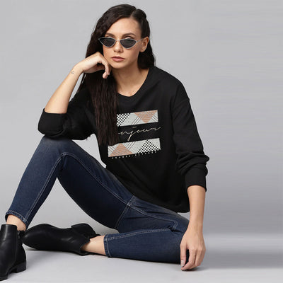 Women Champs Elysees Sweat shirts (From M Size to Plus Sizes)