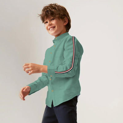 Funkys Kids Side Stripe Zeen Shirt (2 Years To 14 Years)