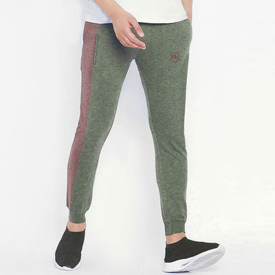 Funky's Melange Mix Contrast Panel Jogger Pants (with minor faults)