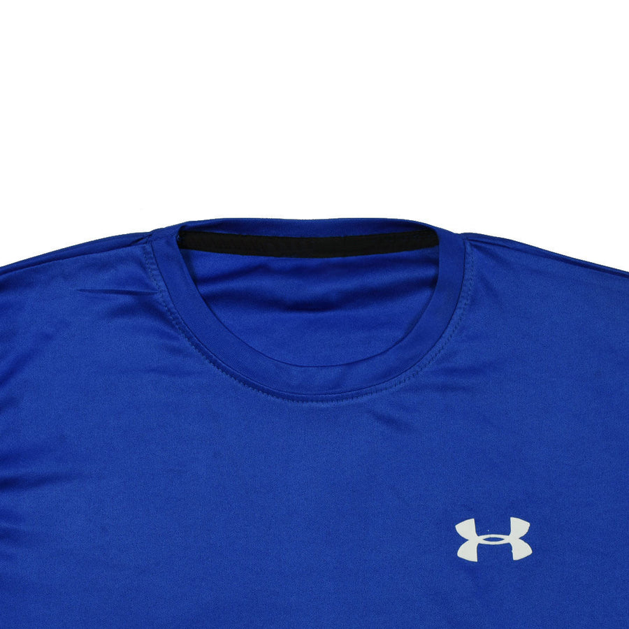 Men's unstoppable dry fit Royal Blue long sleeves tee