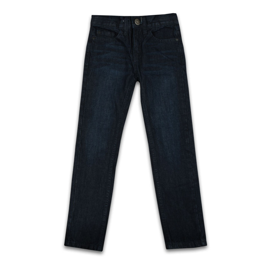 BOYS Basic premium DARK NAVY BLUE denim (2 years to 13 years )