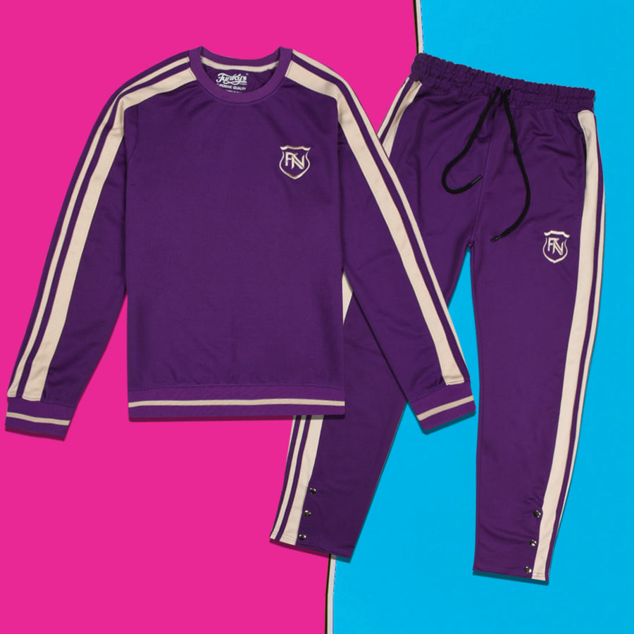 Funky's Women Tiro-21 Purple Tracksuit