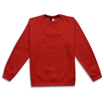 ADS Embossed Logo Crew Neck Sweatshirt