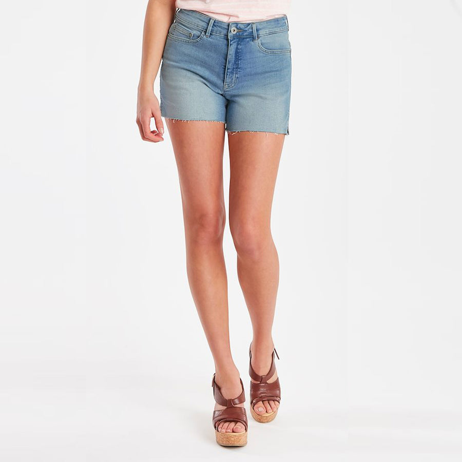 Regular Waist Light Blue Denim Short W30-W34