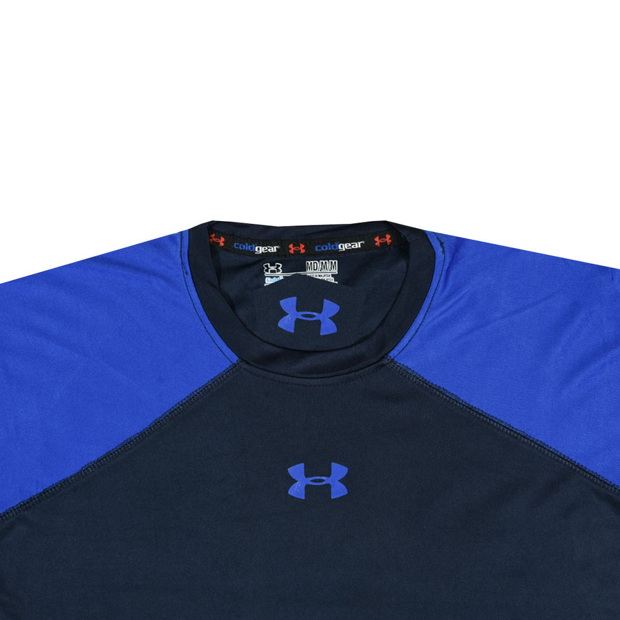 Voltage Spark Dry Fit Navy Long Sleeve
