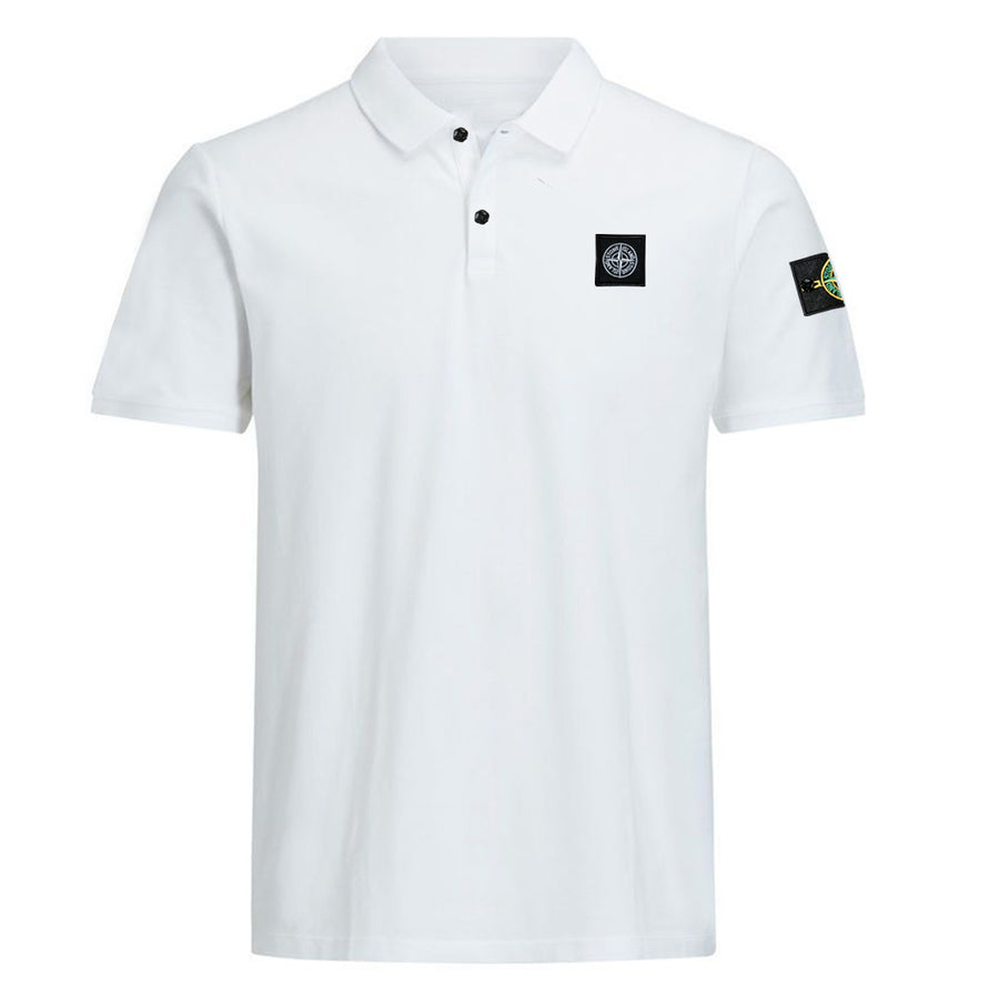 Flex Trait White Polo