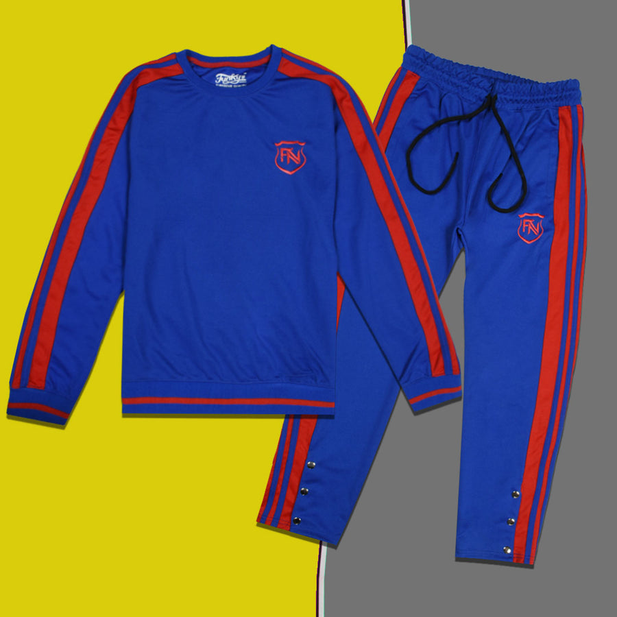 Funky's Women Tiro-21 Royal Blue Tracksuit