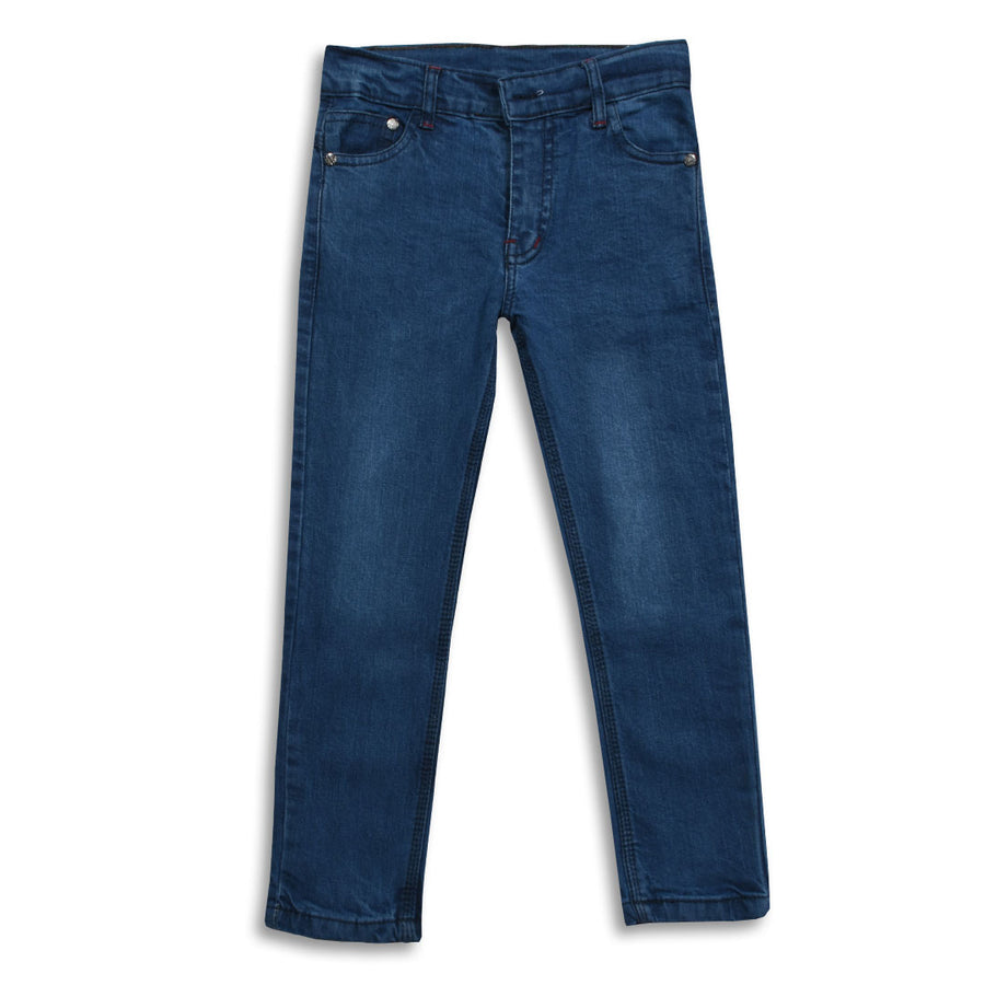 Boys Blue Stretchable Denim (5 YEARS To 14 YEARS)