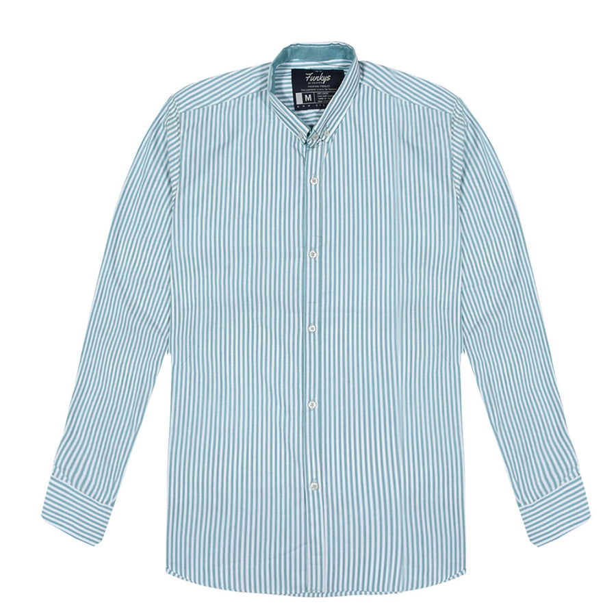 Men's Cotton Semi Formal  Oxford Shirt