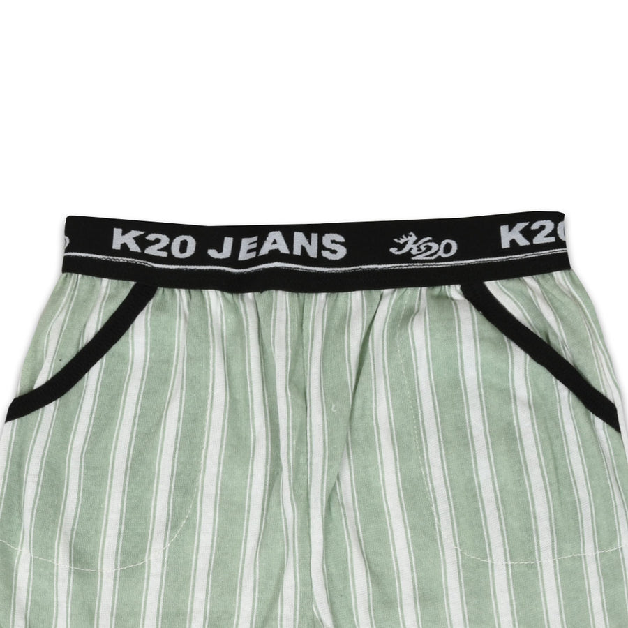 Kid's Comfy Light Green Trouser
