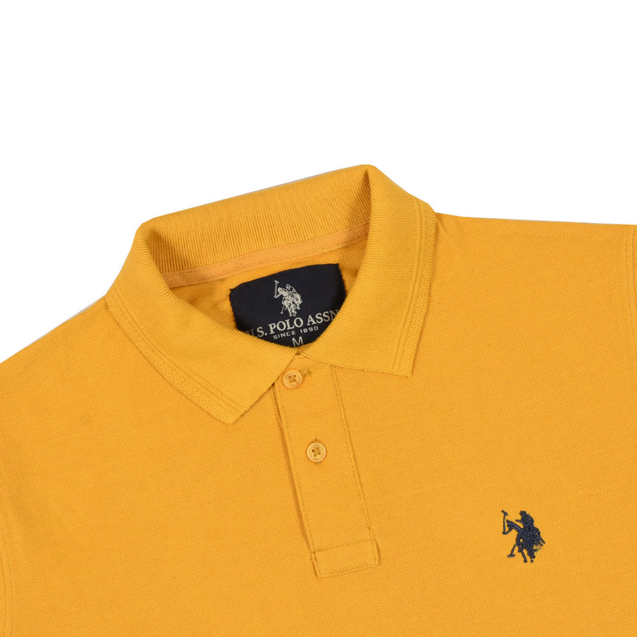 FLEXUS STATELY YELLOW PREMIUM POLO
