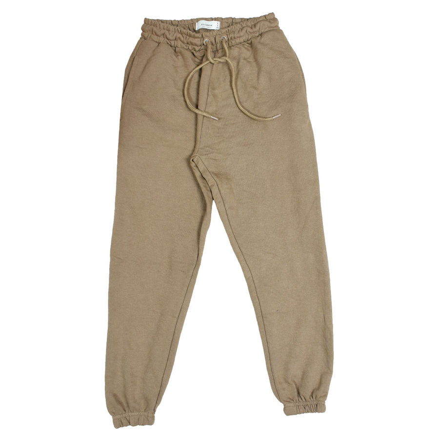 Women classic crop fit khaki jogger pants