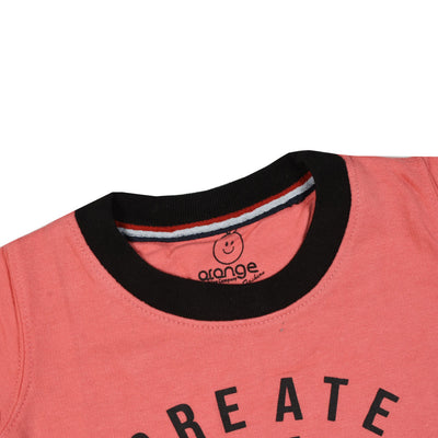 Kid's Create the future Printed Sweatshirt with Minor Fault