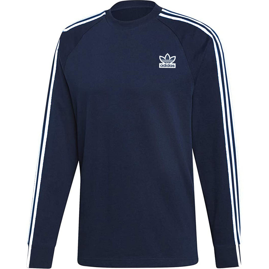 3 STRIPE DRI FIT SUMMER LONG SLEEVE CLASSIC T SHIRT