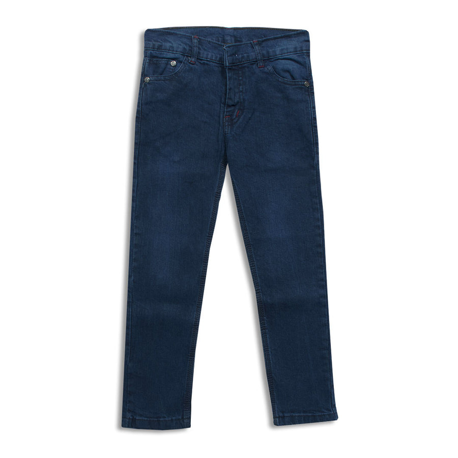 Boys DARK Blue Stretchable Denim (5 YEARS To 14 YEARS)