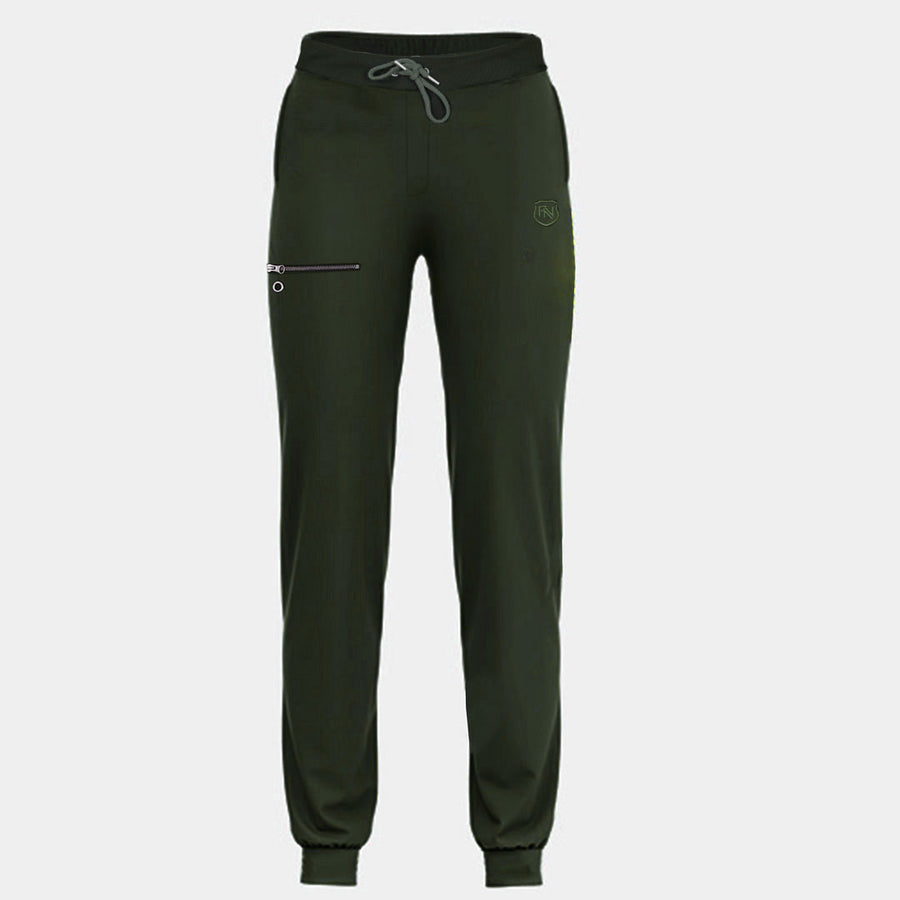 Funky's Four Pockets Olive Jogger Pant