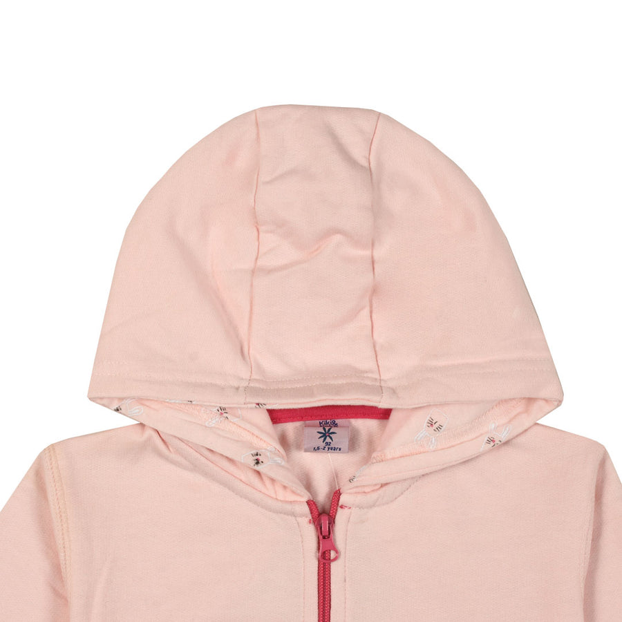 Rock n Roll Kid's Pink Hoodie (2 YEARS TO 8 YEARS)