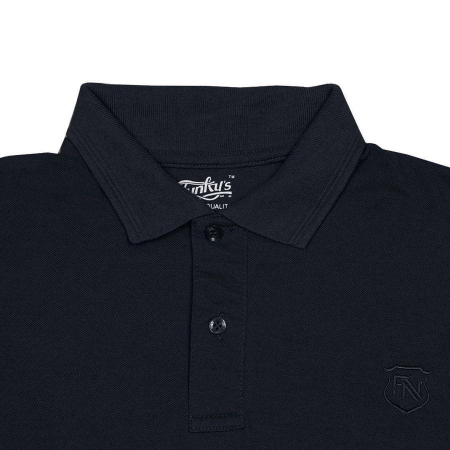 Funkys Decade Slim Fit Navy Polo