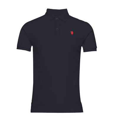 Men's Essential Slim Fit Navy Polo