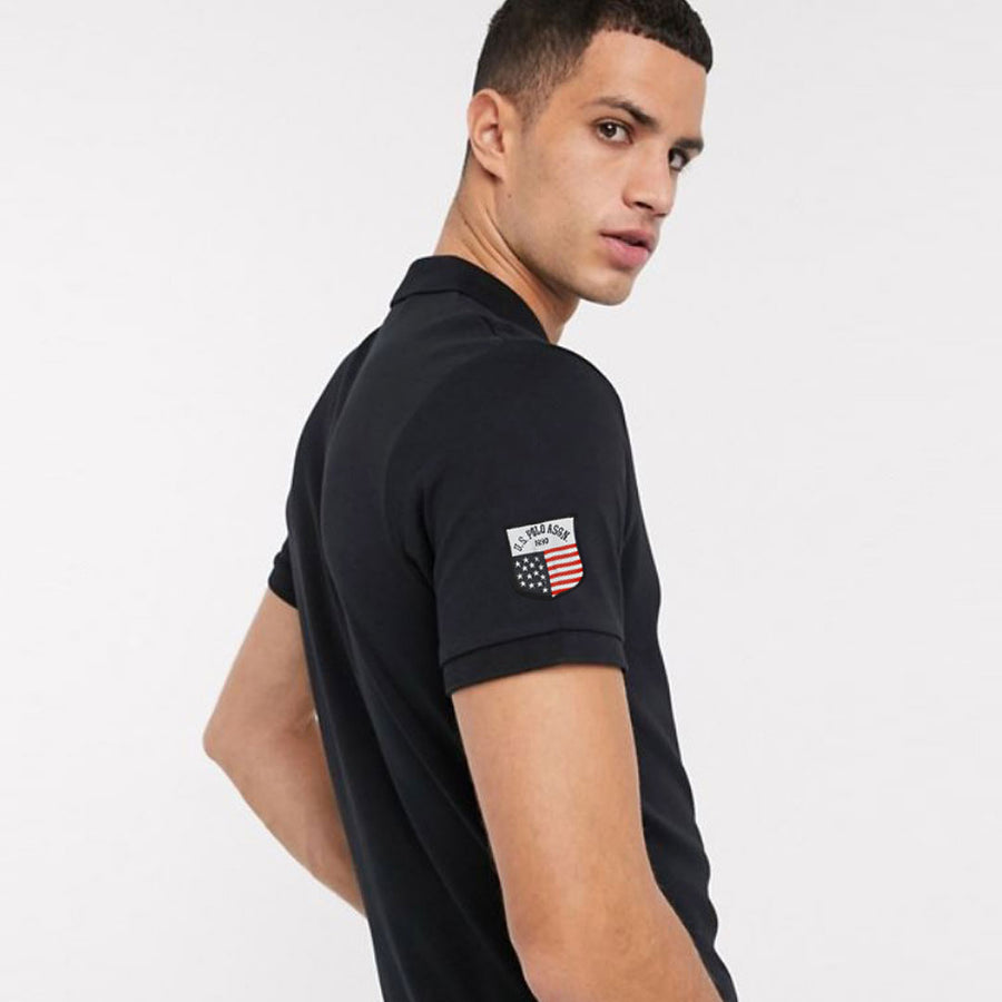 FLEXUS STATELY BLACK PREMIUM POLO