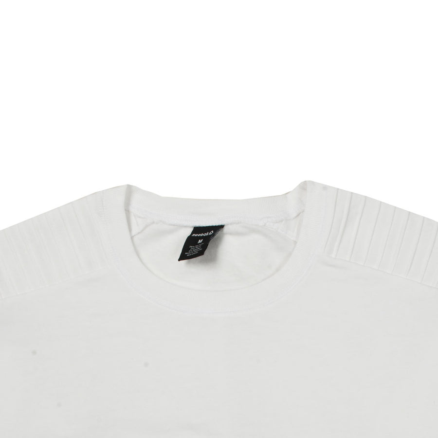 Women Classic Shoulder White Sweat