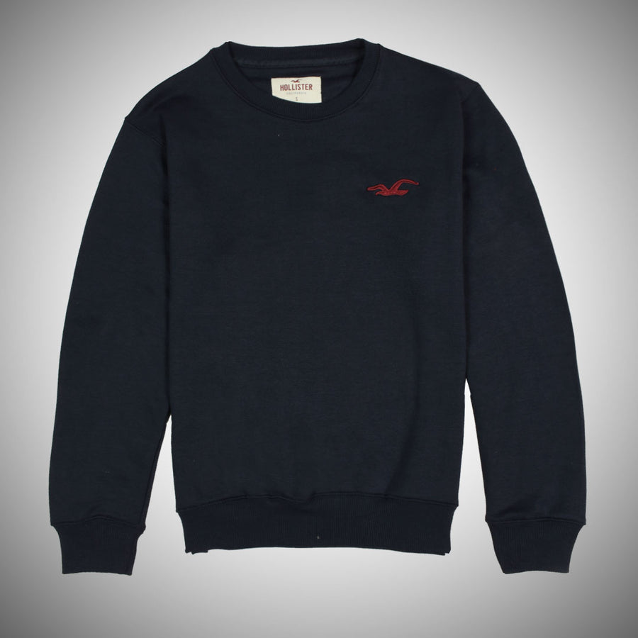 Solemn premier logo Navy fleece sweat shirt
