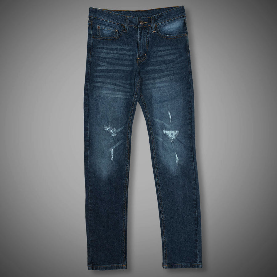 511 Ripped Comfort Flex Blue Denim